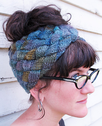 Knitted Head Wrap Pattern Free : Turban Hat Knitting Patterns In the Loop Knitting