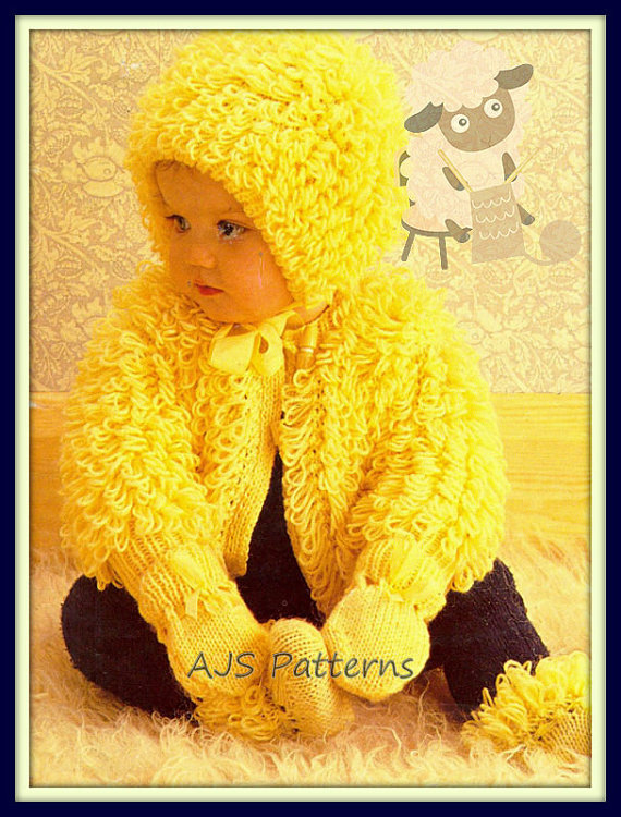 Knitting Pattern For Baby Loopy Jacket : Free Baby and Toddler Sweater Knitting Patterns In the Loop Knitting