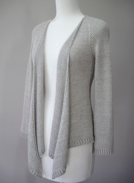 Free Cardigan Knitting Patterns For Beginners : Cardigan Sweater Knitting Patterns In the Loop Knitting
