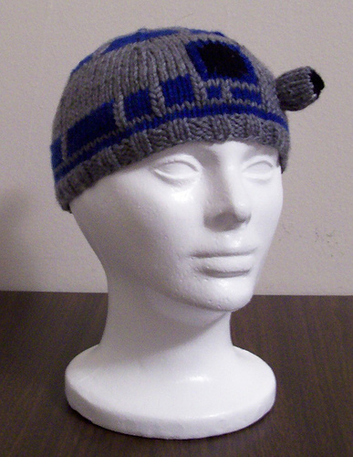 R2d2 Hat Knitting Pattern : Fun Hats Knitting Patterns In the Loop Knitting