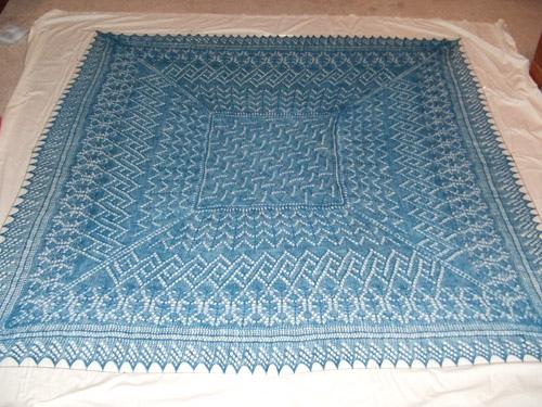 Knitting Pattern For Outlander Shawl : Sassenach Knitting Patterns In the Loop Knitting