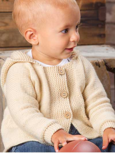 Little one hoodie knitting patterns in the loop knitting happy cheer hooded cardigan dt1010fo