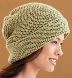 Knitting Hat Free Pattern : Garter Stitch Knitting Patterns In the Loop Knitting