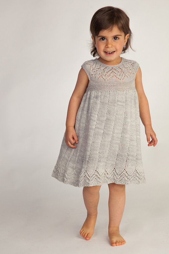 Dresses and Skirts for Children Knitting Patterns In the Loop Knitting