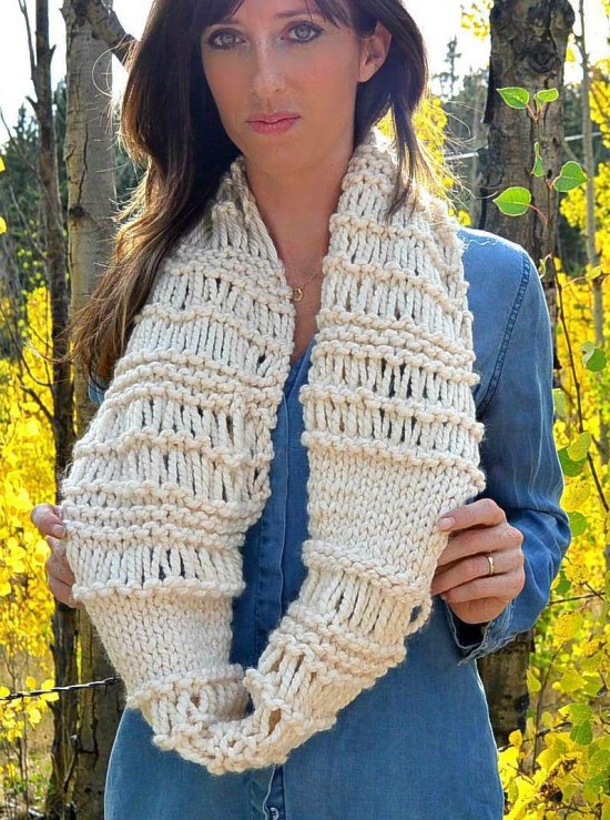 Quick Cowl Knitting Pattern : Quick Cowl Knitting Patterns In the Loop Knitting