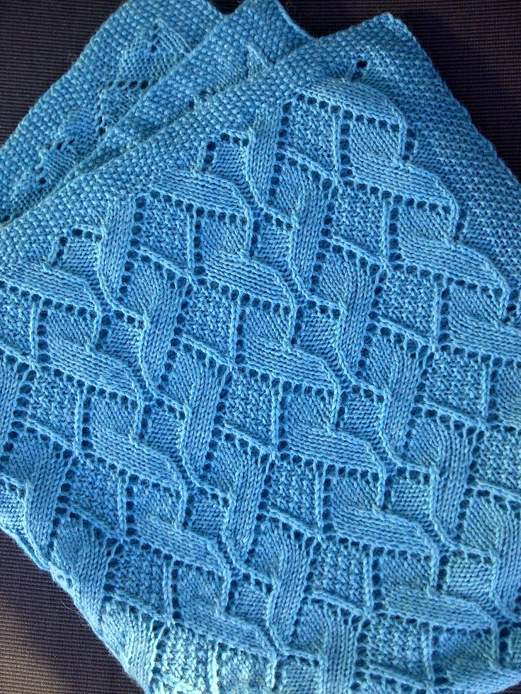Free Knitting Pattern For Moss Stitch Baby Blanket : Awww-some Baby Blanket Knitting Patterns In the Loop ...