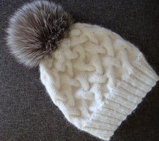Free Hat Knitting Patterns Uk : Pom hats knitting patterns in the loop