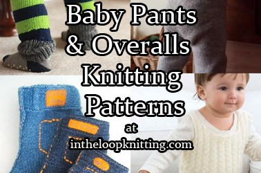 Baby Pants and Rompers Knitting Patterns