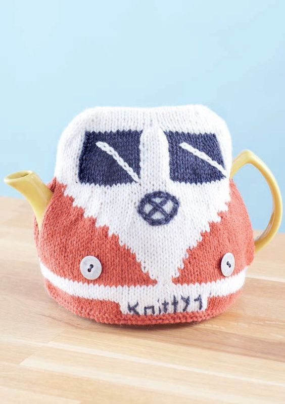 Knitted Teapot Cosy Patterns : Teapot Cozy Knitting Patterns In the Loop Knitting