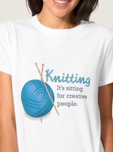 Knitting its sitting for creative people