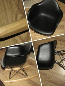 Eames style children's chair