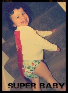 super baby - baby super hero