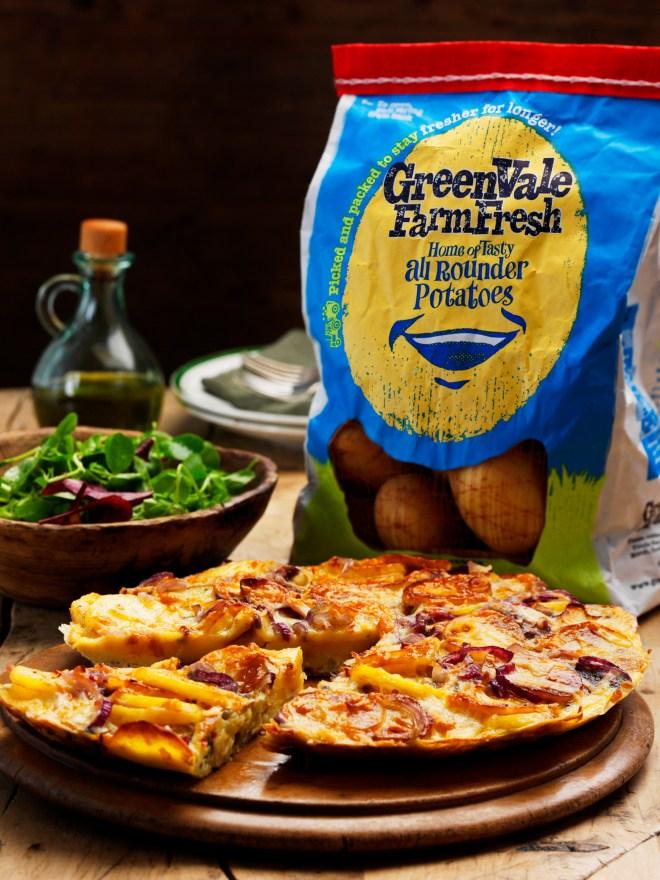 GreenVale potato tortilla