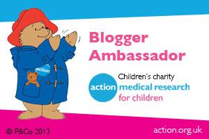 action medical research blogger ambassador
