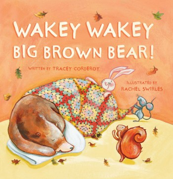 wakey wakey big brown bear