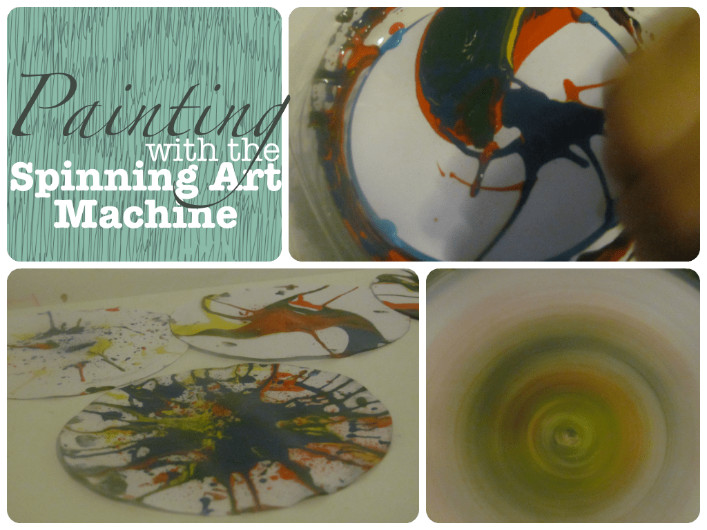 spinning art - spinning paint pictures