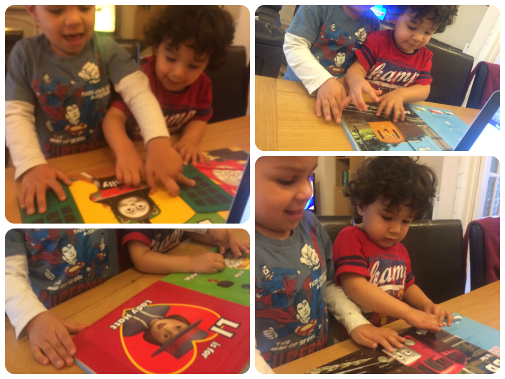 thomas and friends amazing abc book