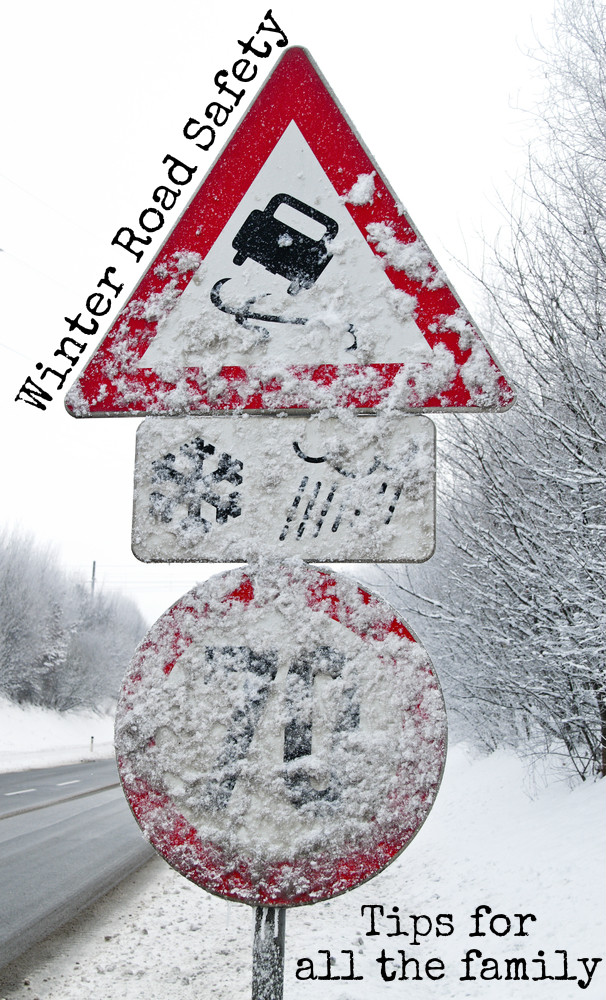 Winter road safety tips for all the family. How to keep children safe when walking home in the dark winter evenings