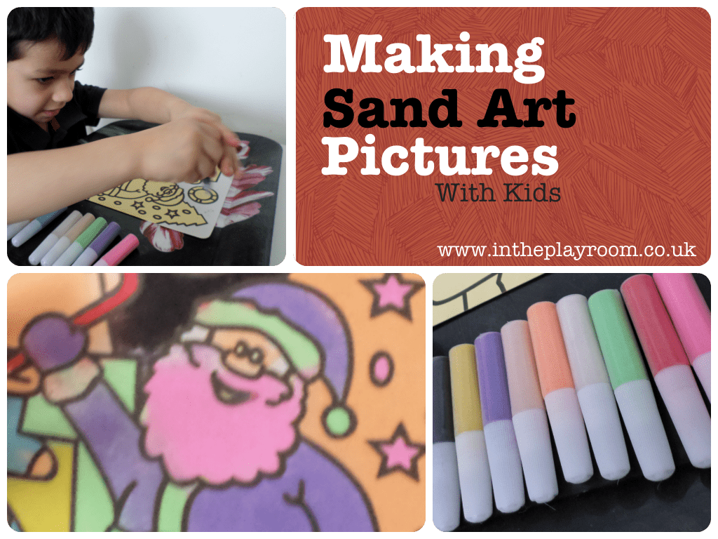 making sand art