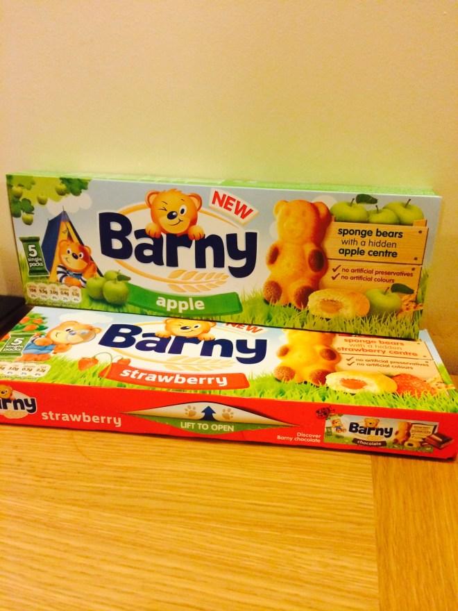 barny cake bars #littleadventure