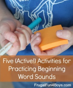 active literacy games and literacy activities
