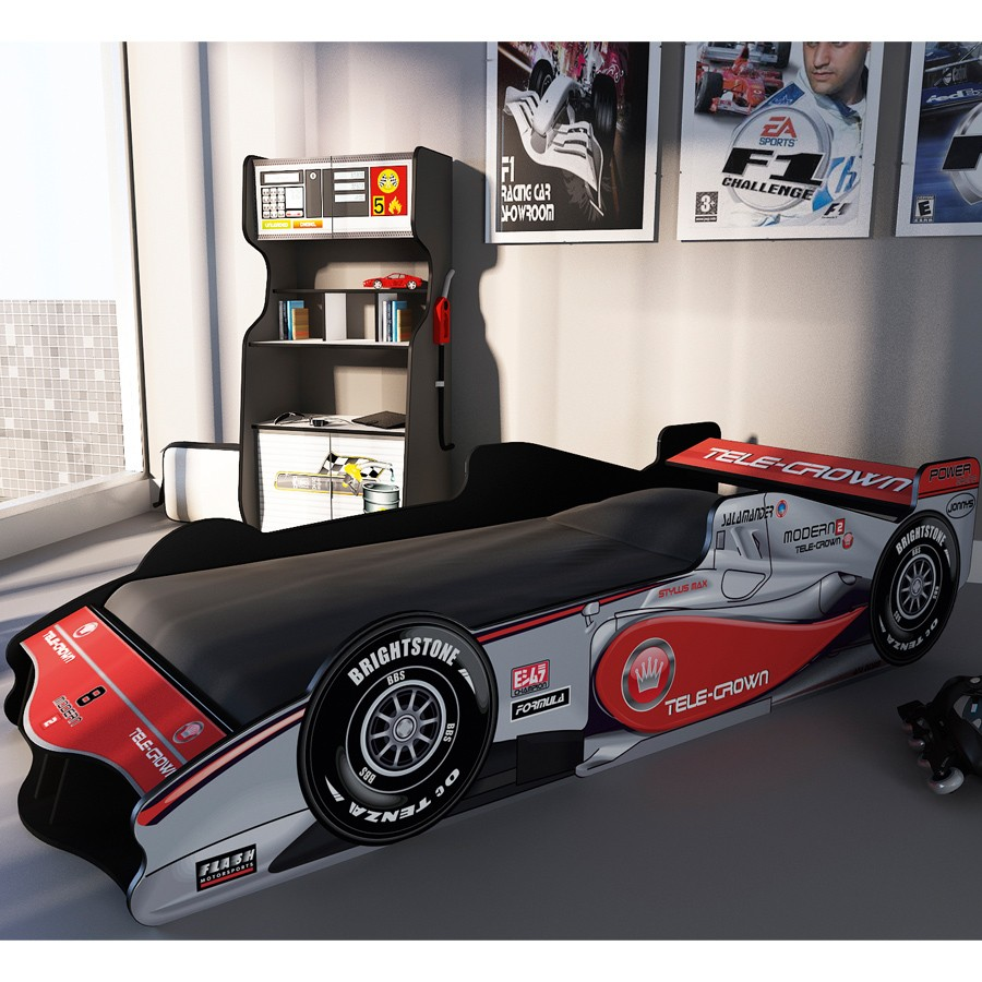 rearranging the bedrooms - kids novelty car bed