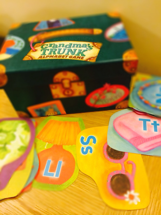 grandmas trunk literacy games