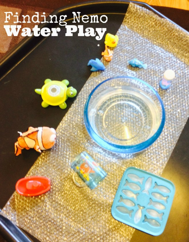 Finding Nemo Themed Water Play