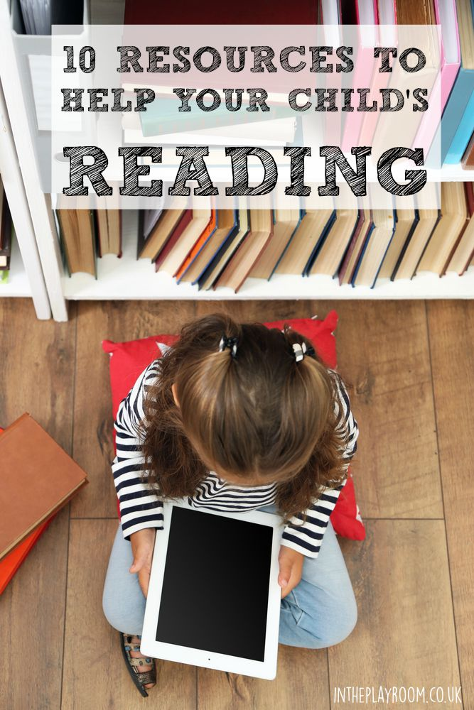 10 resources to help your child's reading at home. Give them a boost in their literacy skills, in a fun way. These suggestions are tried and tested