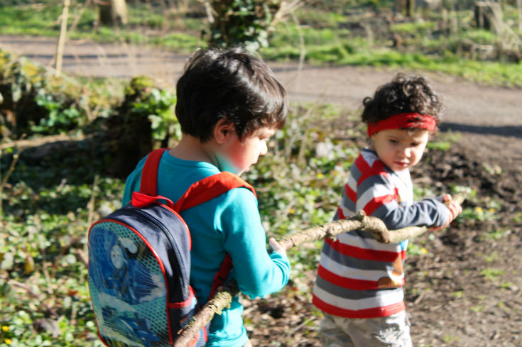 denham country park kids playing