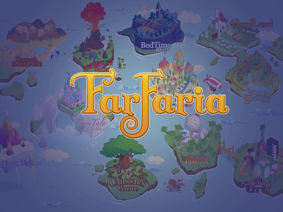 farfaria great literacy app for kids, with a wide selection of books