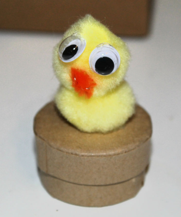 Spring Chick Boxes - Spring crafts for kids