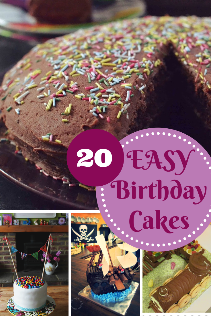 Children S Birthday Cake Designs Recipes : Easy Birthday Cake Recipes - In The Playroom