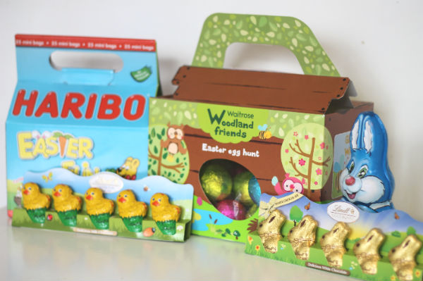 Waitrose woodland friends Easter hunt