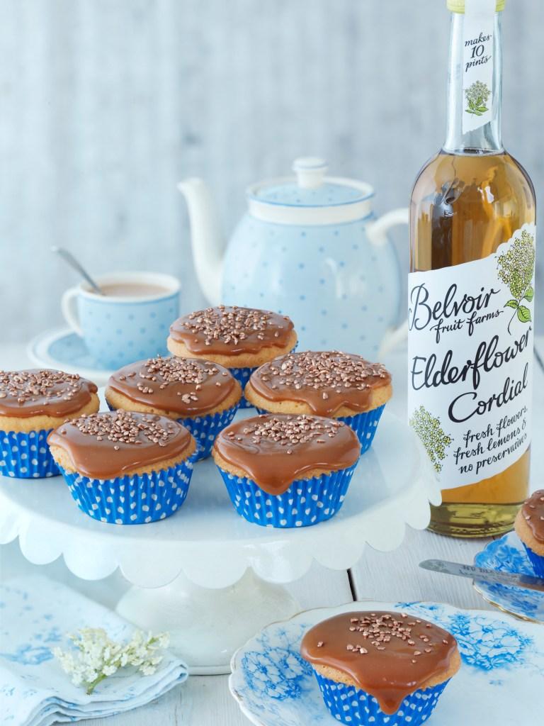 Elderflower fairy cakes