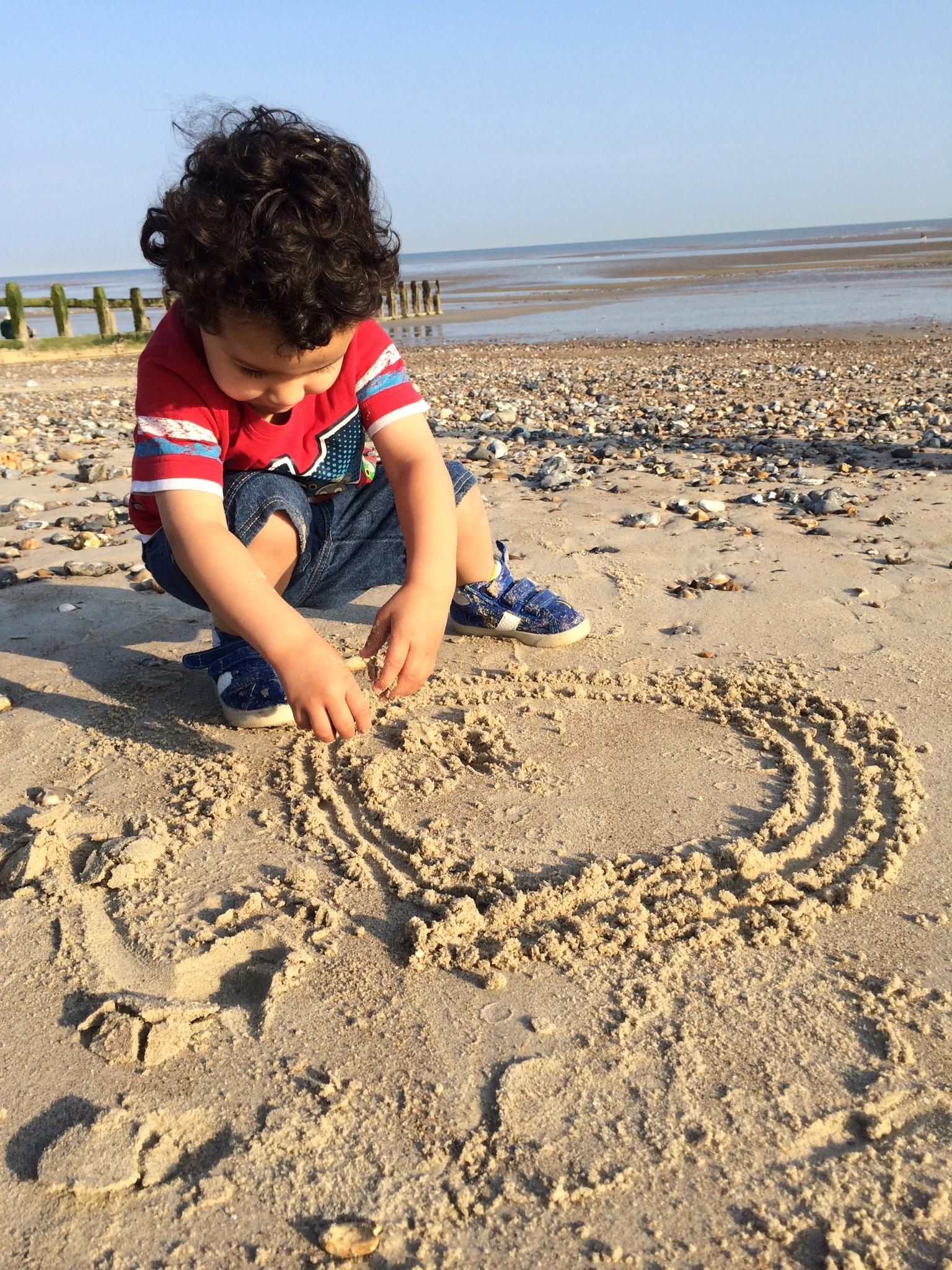sand at littlehampton