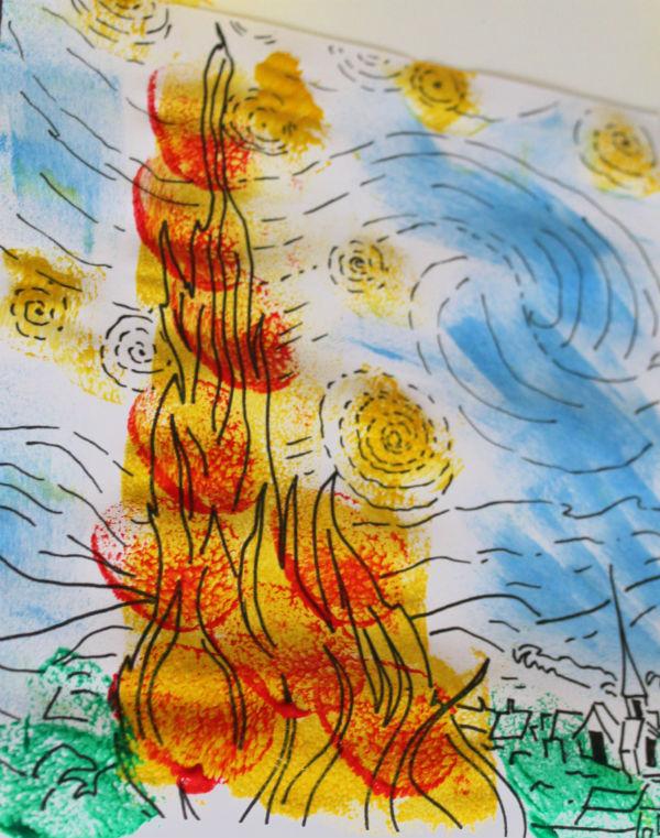 Interpretation of Van Gogh Starry Night