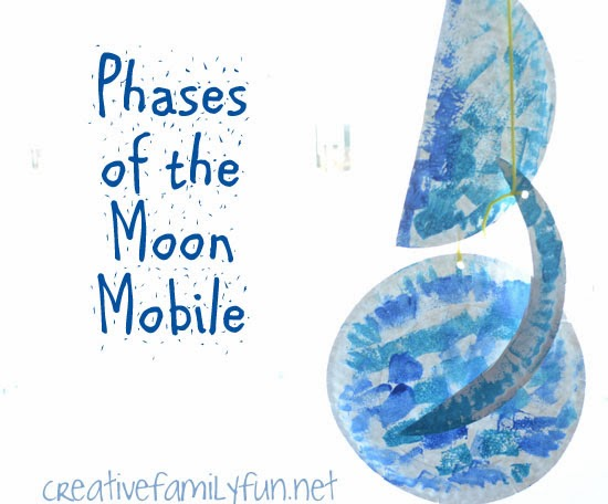 phases of the moon mobile