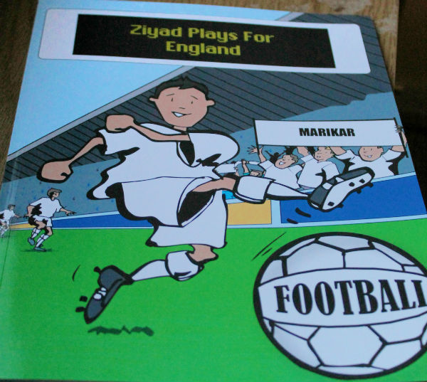 personalised football book from penwizard