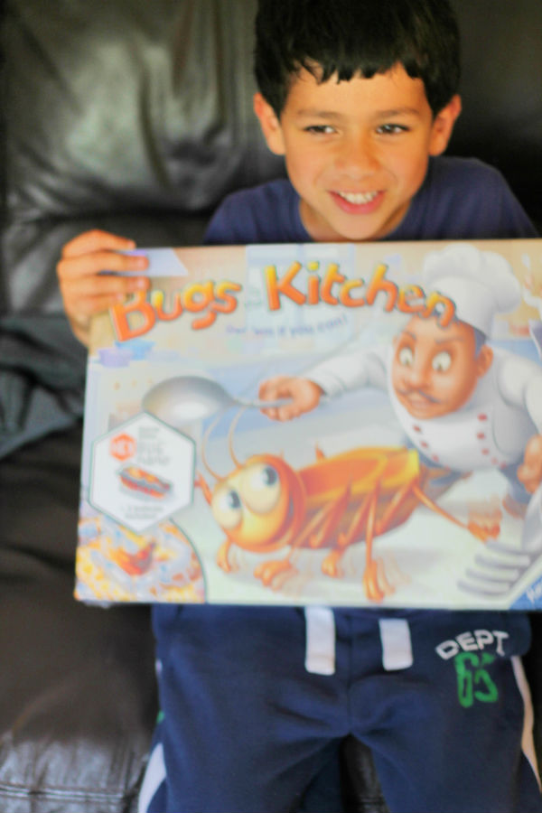 Ravensburger Bugs in the Kitchen game review