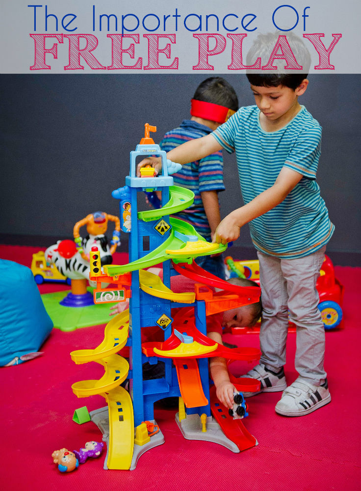 The importance of free play and child-led play for children's development