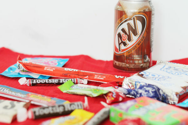 American candy selection from Candy Crate UK