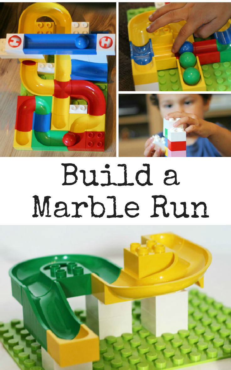 how to build a marble run