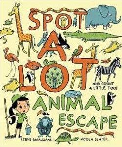Spot a lot animal escape book