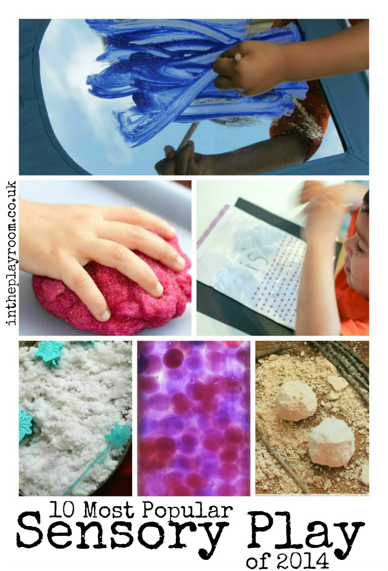 Most popular sensory play ideas of 2014 on In The Playroom. These ideas are fun, cheap and easy to do at home with kids