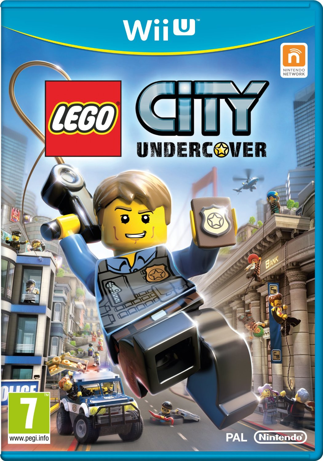Lego City Undercover on Wii U nintendo game