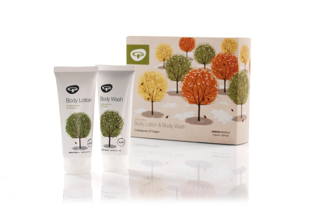 Green people limited edition organic set