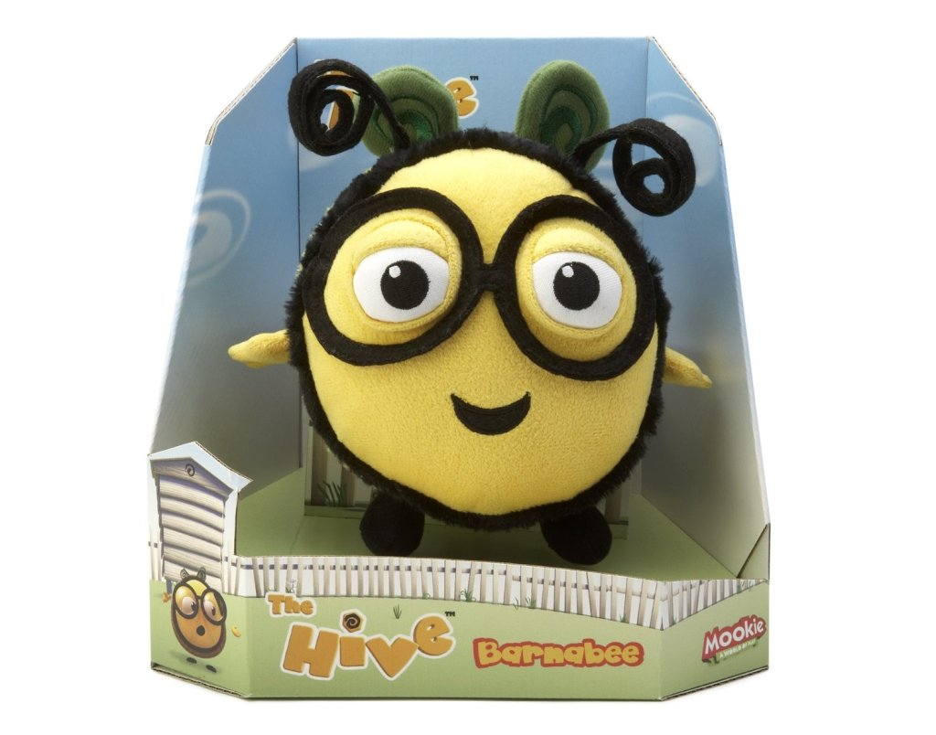 barnabee plush from the Hive
