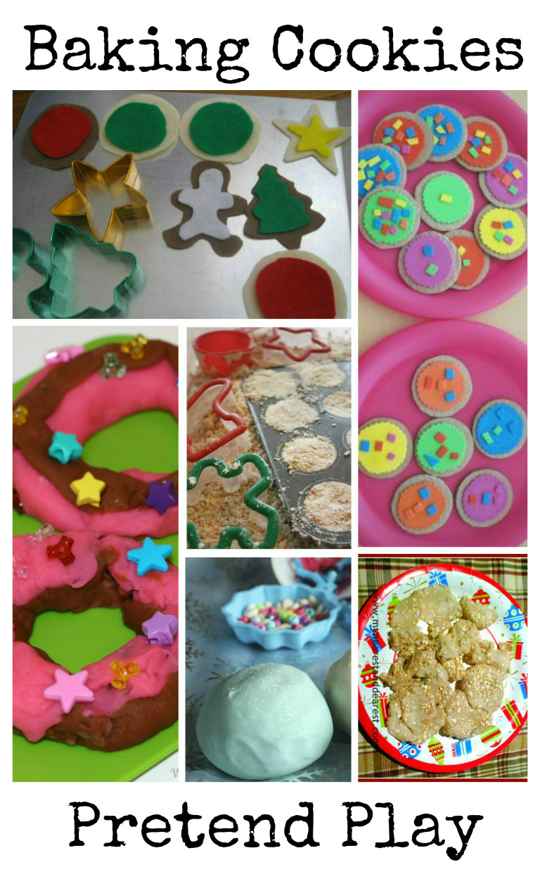 pretend play activities all about baking cookies and treats