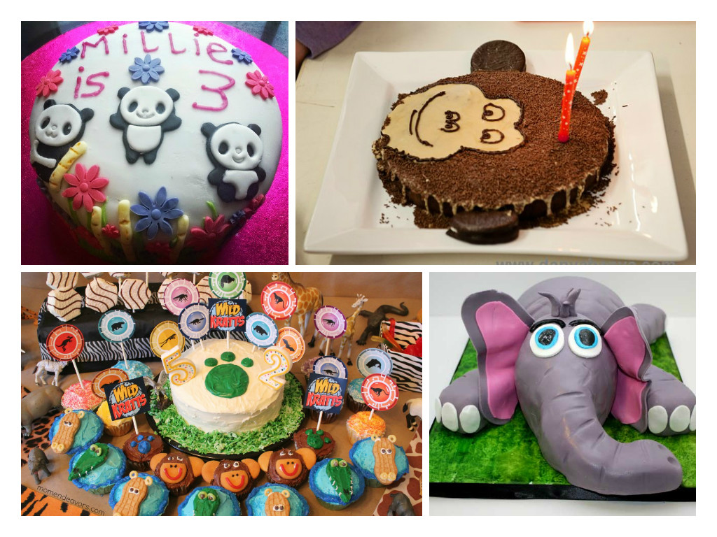 Jungle Cake Decoration Ideas : Kids Cake Decorating Ideas : Animal Cakes - In The Playroom